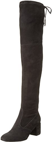 Högl2- 10 4162 - Stivali alti, non imbottiti Donna , Grigio (6600), 37 EU