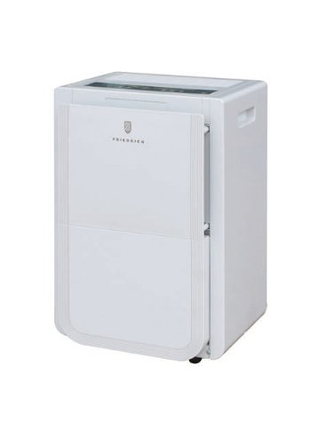 Friedrich D70BP 70 Pint Dehumidifier with BUILT-IN DRAIN PUMP - Never Empty Your Bucket Again