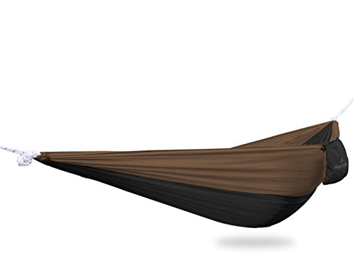 #1 Ultralight Camping Hammock with FREE ROPES – NEW Designs! for Backpacking or Hiking – – Portable and Super Strong