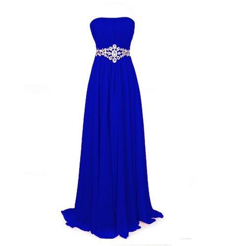 Fashion Plaza Strapless Bridesmaids Evening Dresses D004