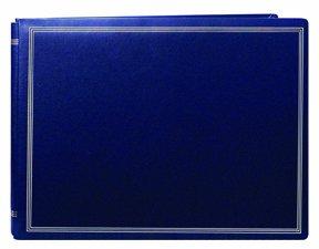20 PAGE LARGE MAGNETIC PAGE X-PANDO ALBUM - NAVY BLUE - Photo Album