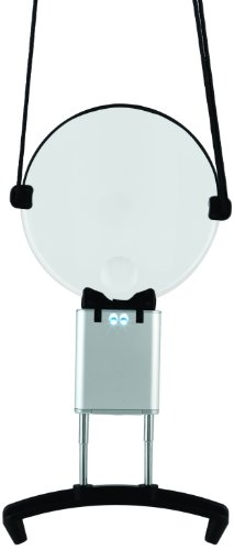 Daylight-Company-Naturalight-Plastic-Professional-LED-Hands-Free-Neck-Magnifier-Black