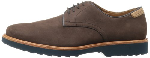 Clarks Men's Fulham Walk Oxford,Brown Suede,9 M US