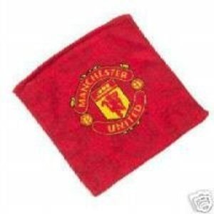 Manchester United FC Face Cloth/Flannel, Red