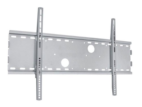 Monoprice Low Profile Wall Mount Bracket For Lcd Led Plasma (Max 165Lbs, 30~63Inch) - Silver (No Logo)