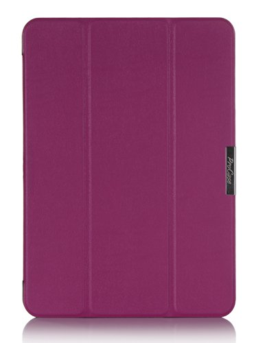 Procase Samsung Galaxy Tab 4 10.1 Tablet Case - Slimsnug Hard Shell Stand Cover Case For 10 Inch Galaxy Tab 4 (2014 Released), With Auto Sleep/Wake And Magnet Close, Also Compatible With Galaxy Tab 3 10.1 (Purple)