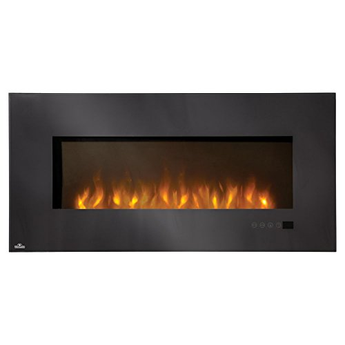 Linear Wall Mounted Electric Fireplace Size: 48""