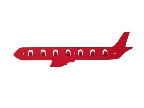 Jip Coat Hanger Transporters Plane Metal, Red