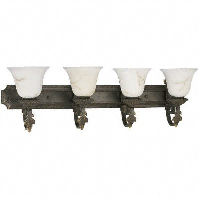 Progress P3372-46 Traditional / Classic Bronze Bath & Vanity Light