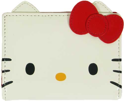 Sanrio Hello Kitty Face Wallet