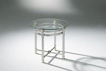 Quattro casa tavolino 4251–000/99con piano in vetro