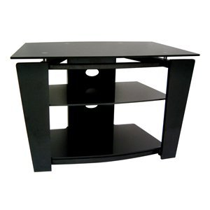 Cheap Ares Furniture WOODY-V03 TV Stand, Black (WOODY-V03)