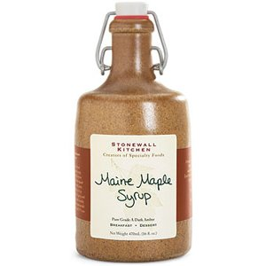 Stonewall Kitchen Maine Maple Syrup in Crock