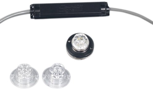 Sound Off Signal Eluc2S010A Undercover Amber 10' Led Insert