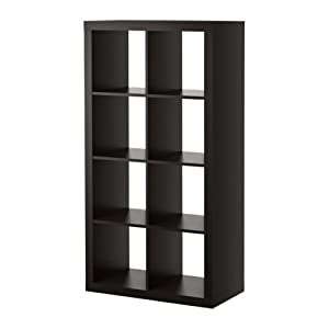 ikea kallax bookcase room divider cube display book case. Black Bedroom Furniture Sets. Home Design Ideas