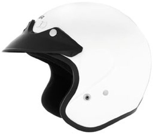2013 Cyber U-6 Open-Face Motorcycle Helmets - White - Large