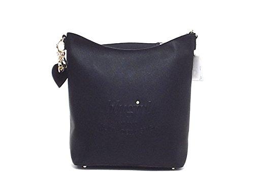 Blugirl borsa donna a spalla, 829004, ecopelle nera A61002