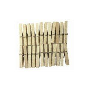 pince 224 linge mini bois naturel 3 cm lot de 24 fr cuisine maison