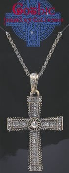 Monks Fancy Dress Costume Jewelled Cross Necklace Pimp Gangster Vicar Priest by Bristol Novelties