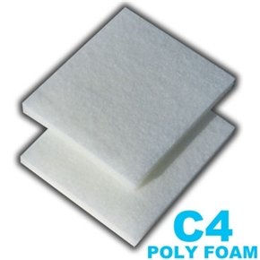 12 Poly Foam Pads for Fluval C4 Filter auto fuel filter 163 477 0201 163 477 0701 for mercedes benz