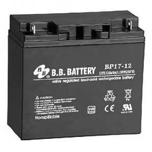 B.B. Battery 12V 17Ah Battery B1 Terminal, BP17-12-B1 (Mini Kota 35 compare prices)
