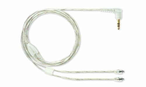 Shure Ea46Cls 46-Inch Clear Detachable Earphone Cable With Silver Mmcx Connection For Se846 Earphones
