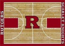 Milliken Rutgers Scarlet Knights 5 x 8 Rutgers Scarlet Knights Area Rug