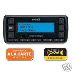 SIRIUS XM Stratus 6 Dock-and-Play Radio with Car Kit (Black) from Sirius XM