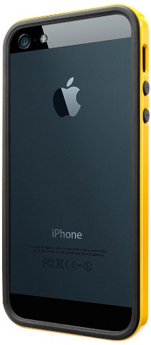 国内正規品SPIGEN SGP iPhone5/5S ケース ネオ・ハイブリッド EX スリム ビビッドシリーズ[レベントン・イエロー] SGP10028