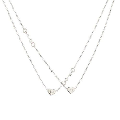 lux-zubehor-silvertone-best-friends-bff-herz-halskette-set