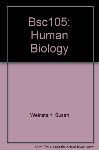 BSC105: Human Biology Laboratory Manual