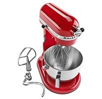 KitchenAid HD KG25HOXER PRO Stand Mixer Empire Red Promo Offer