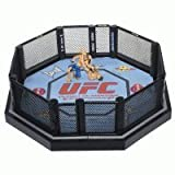 UFC Ultimate Fighting Jakks Pacific DELUXE Ring Official Scale Octagon