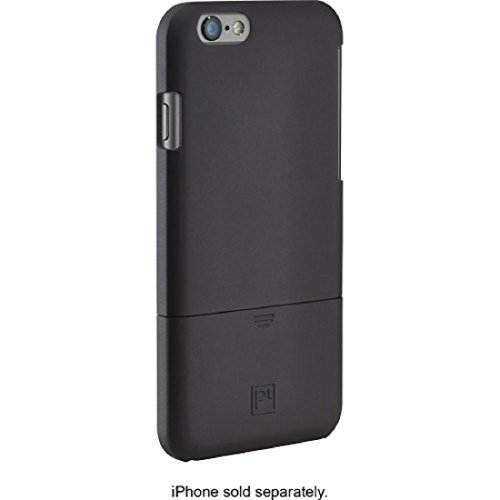 Platinum - Protective Case and Holster for Apple® iPhone® 6 Plus - Black (Iphone 5 Platinum Case compare prices)