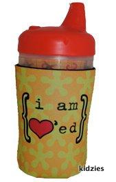 Kidzies Huggerz, Child'S Drink Sippy Cup Bottle Insulator, Mod Design front-660137