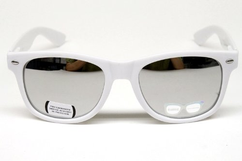 Vintage Wayfarer Mirrored Sunglasses Unisex