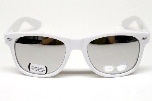 Vintage Wayfarer Mirrored Sunglasses Unisex