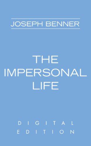 joseph benner the impersonal life pdf