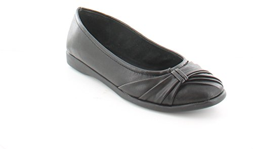 Easy Street Women's Giddy Ballet Flat,Black,8.5