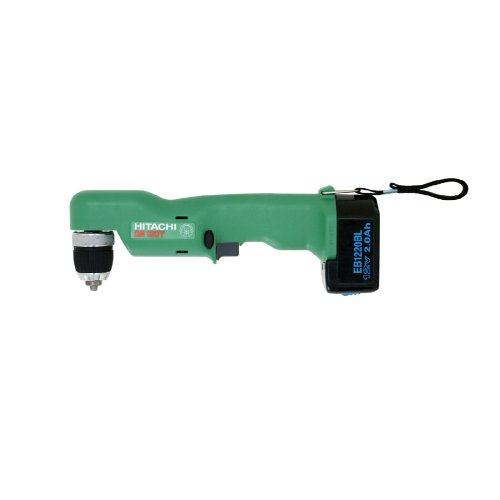 Factory-Reconditioned: Hitachi DN12DYK 12-Volt Ni-Cad 3/8-Inch Cordless Right Angle Drill/Driver Kit
