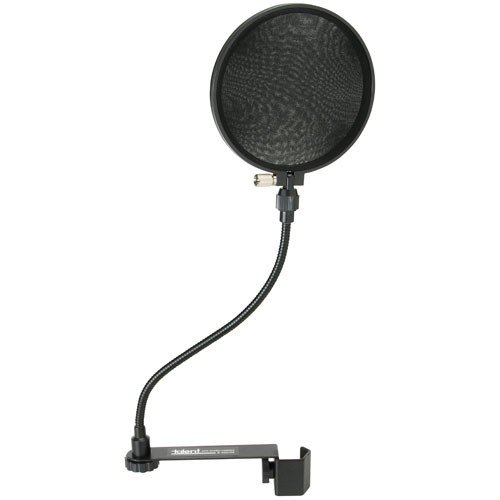 Talent Pf-1 Clamp-On Microphone Pop Filter 6-Inch Diameter