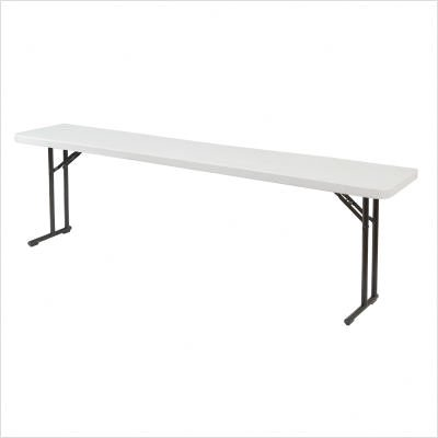 "National Public Seating Lightweight Folding 96""L Seminar Table"
