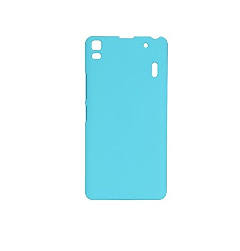 Rubberised Hard Back Cover Made For Lenevo A 7000/K3 note-Sky Blue