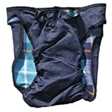 Washable Doggie Dungarees - Dog Diaper Medium
