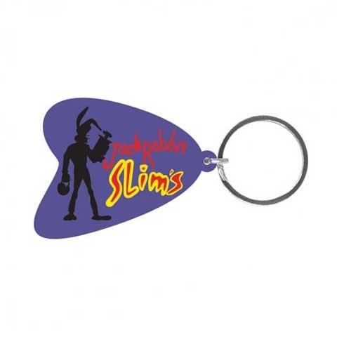 Pulp Fiction-Jack Rabbit Slims gomma portachiavi, portachiavi-dimensioni circa 5cm