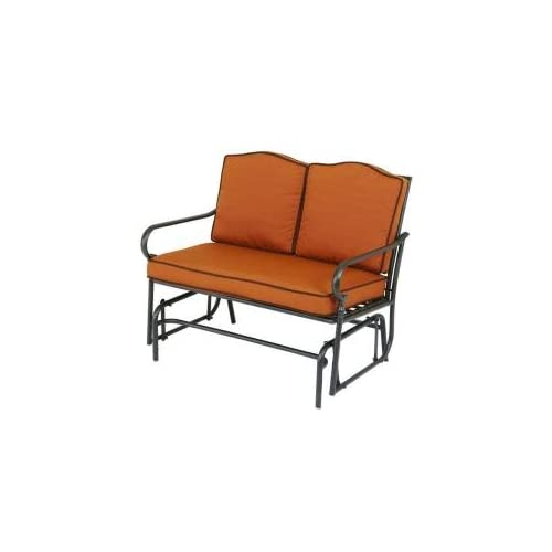 Amazon Martha Stewart Living Mallorca II Double Glider Patio Bench Pa
