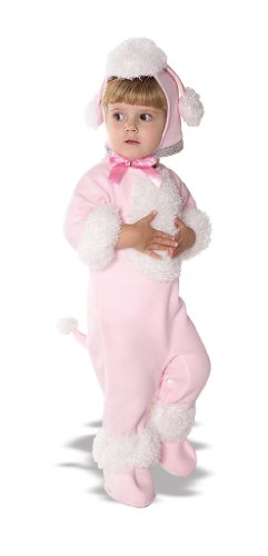 Rubies Pink Poodle Child Girl Dog Halloween Costume