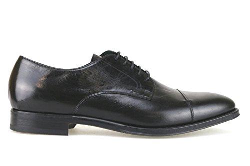 scarpe uomo FABI 45 EU classiche nero pelle AK922-B