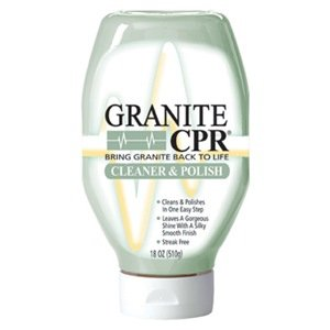 LEATHER CPR GC-18QC12 Granite Cleaner and Polish, 18-Ounce