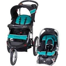Baby Trend Expedition Jogger Travel System WITH Baby Trend Easy Flex Infant Car Seat TROPIC
